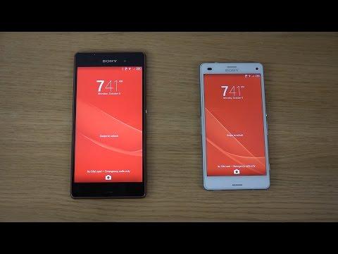 Sony Xperia Z3 vs. Sony Xperia Z3 Compact - Review (4K)