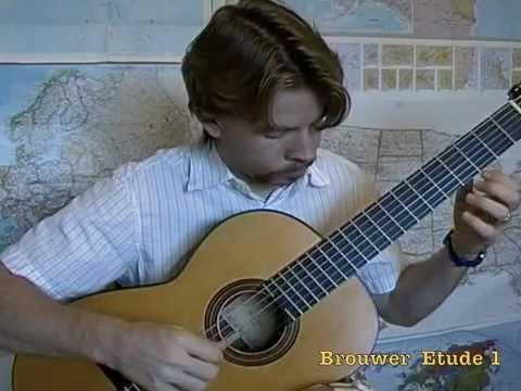 Leo Brouwer Etude 1