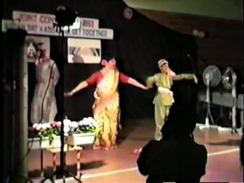 Gita Baruas Bihu dance in 1993 Assamese Get together