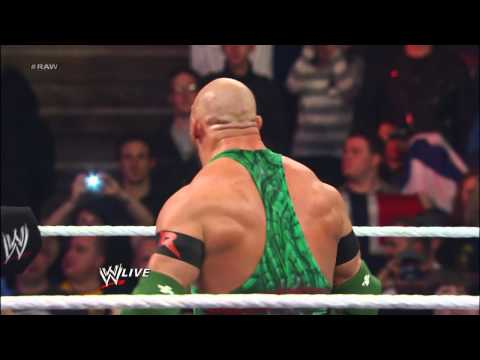 John Cena vs. Mark Henry: Raw, April 8, 2013