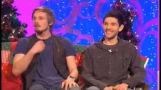 Bradley James and Colin Morgan Paul O'Grady Show [interview]