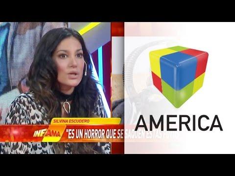 Silvina Escudero, indignada con las fotos del safari de Vanucci y Garfunkel