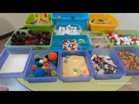 Сенсорные коробки для детей 2 лет своими руками 24