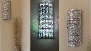 Decorating Ideas 2019 ||💕 Crystal Wall Sconces || Inexpensive and Easy