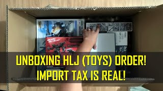 Unboxing HobbyLink Japan Order - Import Tax is Real!