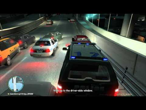 GTA IV LCPDFR 0.95 RC2 - Day 3 of the Noob on Patrol W/ Live Commentary