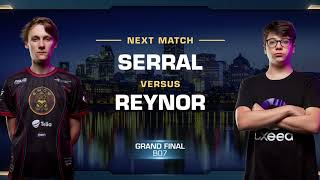 Grand Final: Serral vs Reynor ZvZ - WCS Montreal 2018 - StarCraft II