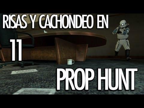 PROP HUNT 11: Risas y Cachondeo! CUANTA SANGRE!!! - [LuzuGames]