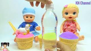 ChiChi ToysReview TV - Trò Chơi món quà bất ngờ trong những ly kem động lực khổng lồ