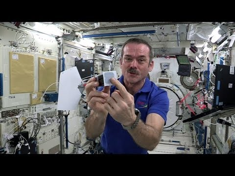 Science & Technology: Astronaut Chris Hadfield Plays Jamie Hyneman and Adam Savage's Space Game on the ISS
