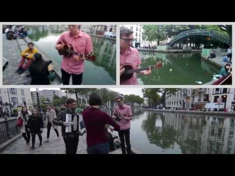 St Apollonia (Beirut cover) - Ictus Pop - Street Music in Paris
