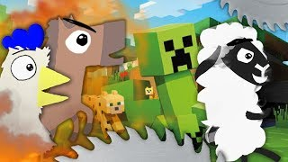 MINECRAFT 「Ultimate Chicken Horse」