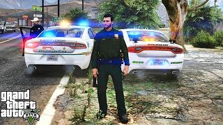 GTA 5 MODS LSPDFR 1008 - GRAPESEED PATROL!!! (GTA 5 REAL LIFE PC MOD)