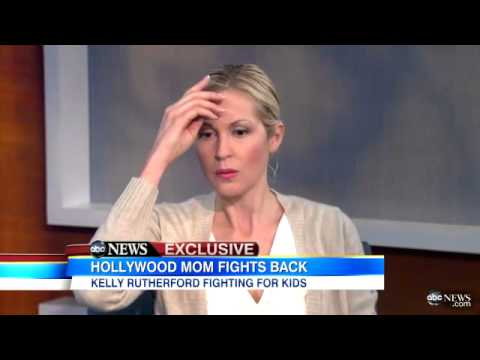 Kelly Rutherford Discusses International Custody Case