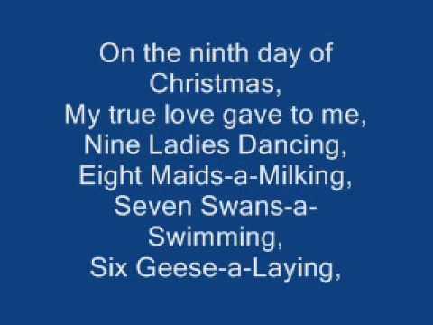 relient k 12 days of christmas lyrics - YouTube