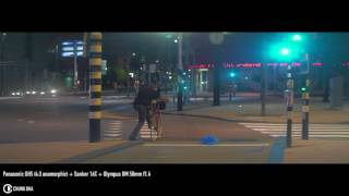 Panasonic GH5 Anamorphic Sankor 16C + Olympus 50mm f1.4 Night test by Chung Dha