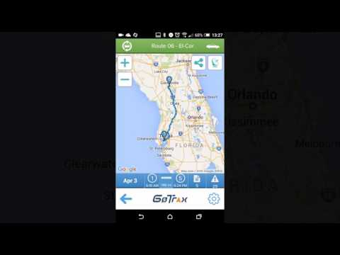 GoTrax Vehicle Tracking App for Geotab Fleet Management System