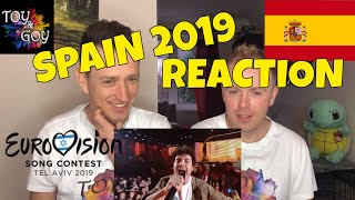 Spain Eurovision 2019 Reaction - Review - Miki - La venda
