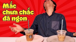 Starbucks vs cà phê tám ngàn, cái nào ngon? | Woossi