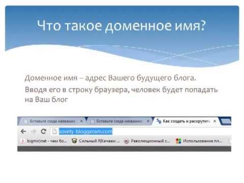 Создай Свой Блог Легко и Быстро ver 2.0 - Зачем нужны доменное имя и хостинг?