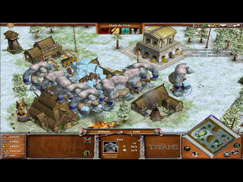 Age of Mythology The Titans - Gameplay [BR]