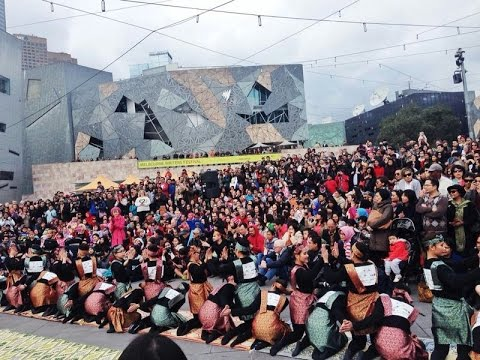 Ucapan Dirgahayu RI ke 69 dari KJRI Melbourne & Komunitas Indonesia di Melbourne