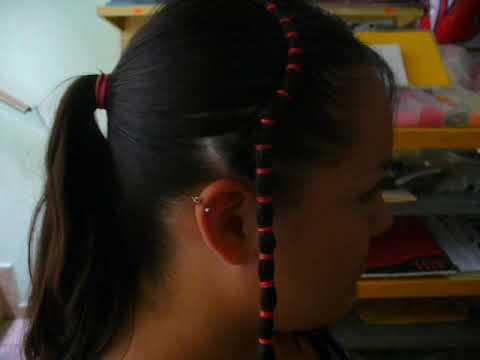 peinado de corazón