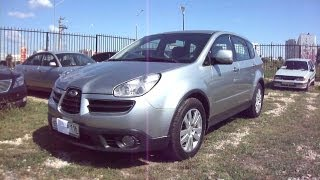 2007 Subaru Tribeca B9.Start Up, Engine, and In Depth Tour.