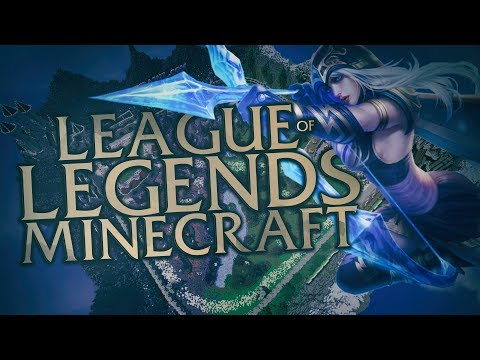League of Legends v Minecraftu! [MarweX]