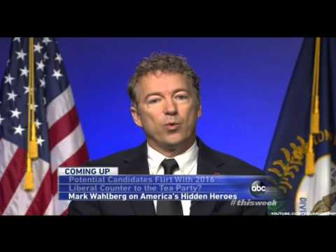 Rand Paul On ABC News' This Week - 1/5/2014