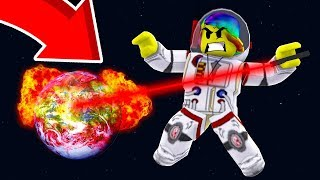 DESTROYING AN ENTIRE PLANET *MASS DESTRUCTION* (Roblox Space Mining Simulator)