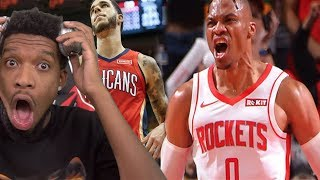 LONZO CHOKES THE GAME!? Houston Rockets vs New Orleans Pelicans - Full Game Highlights