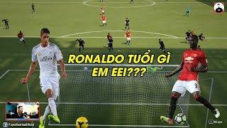 Fifa Online 4 | Giật mình khi Bailly và Varane đá tiền đạo sút kinh hơn cả Ronaldo
