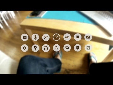 Gafas interactivas de Google