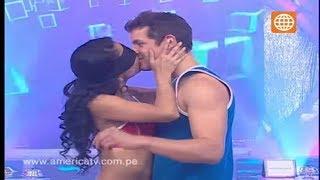 Esto es Guerra: Besito en la boca, Nicola y Natalia / Angie e Ignacio - 11/09/2012