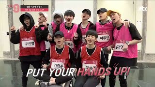 (MIXNINE) Pyeongchang Team [Hand In Hand] selfcam introducing cut