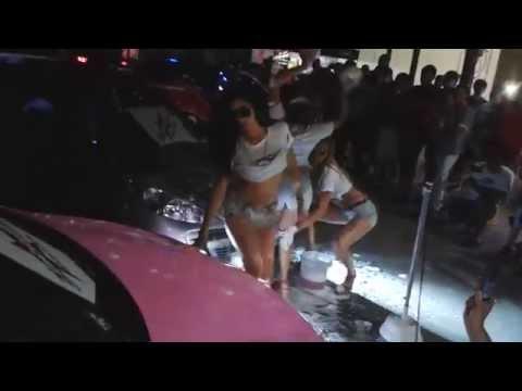 Baño de auto chicas Pro10 - 207 Demianss #Promotoras #Rock&roll #caraudio #Fogosas