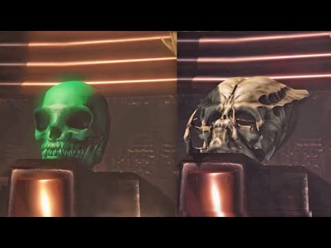 Mortal Kombat X Predator Spine Rip Outro Trophy Skull On All Characters