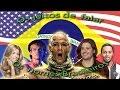 Os Gringos Falam Nomes Brasileiros