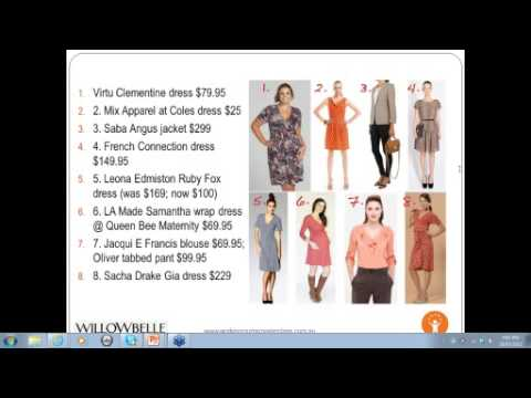 March 2012 Webinar: Working Wardrobes