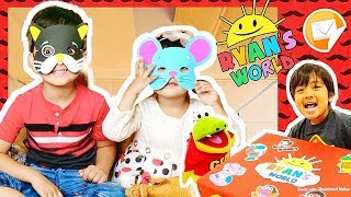 🔴 I MAILED MYSELF TO RYAN TOYS REVIEW!! *NEW*  Ryan's World Toys by Bonkers and It Worked! (Skit)