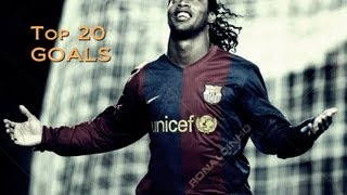 ▷ Ronaldinho ●● Top 20 Goals | HD