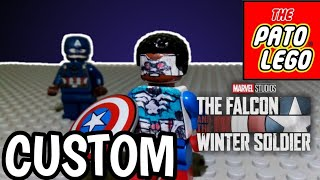LEGO CUSTOM -FALCON-THE FAlCON Y THE WINTER SOLDIER SDCC (2020)MCU PHASE 4!!!