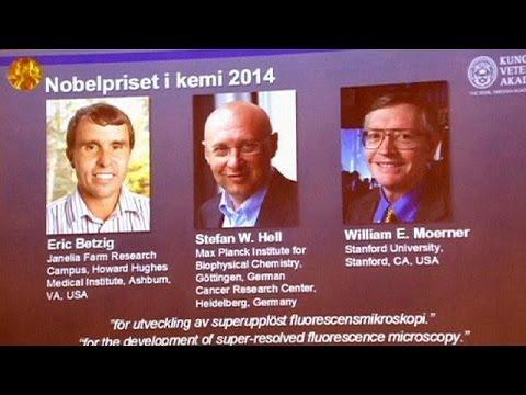 جائزة نوبل للكيمياء 2014 الى الاميركيين اريك بيتزيغ ووليام مورنر والالماني شتيفان هيل