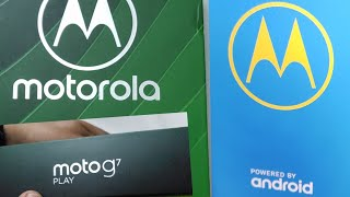 Moto G7 Play || Moto G7 || Moto G7 Play Unboxing #motog7 #motog #motorola