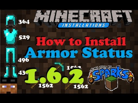 (How To Install) ►Armor Status Mod ◄ (1.6.4)