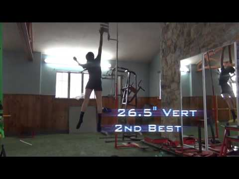 Corexcell Broad Jump record 8'4