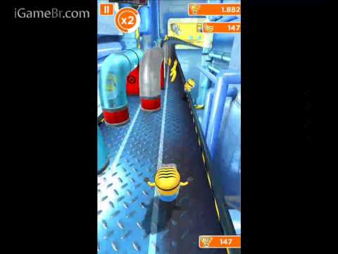 Gameplay Despicable Me: Minion Rush (meu Malvado Favorito) Iphone ipod Touch ipad video