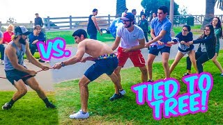 TUG-OF-WAR PRANK FOR CHARITY!