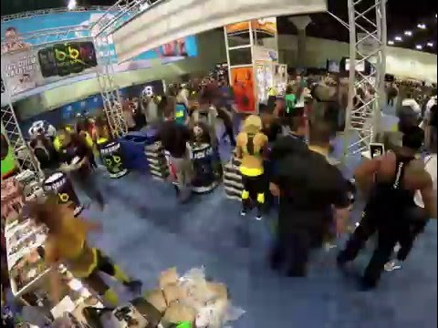 2016 LA FIT EXPO - BANG ENERGY BOOTH